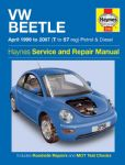 Haynes workshop manual VW Beetle 1999 to 2007 Petrol & Diesel